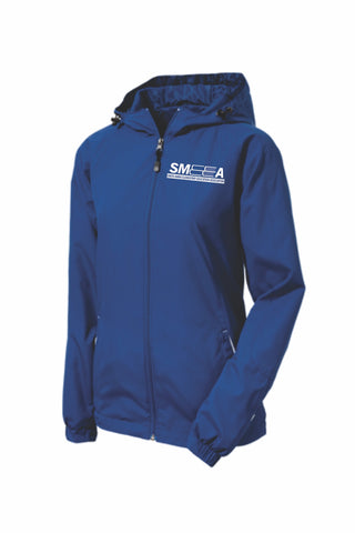 SMEEA Ladies Colorblock Hooded Jacket