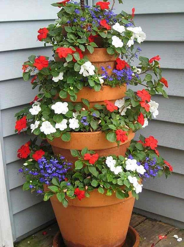 Build A Simple Flower Tower
