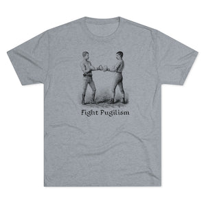 Men's Fight Pugilism Tri-Blend Crew Tee