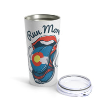 Load image into Gallery viewer, Colorado Shoe Tongue Tumbler 20oz