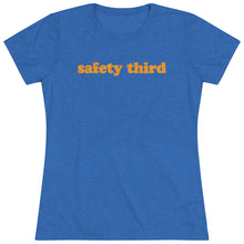 Load image into Gallery viewer, Women's Safety Third Triblend Short Sleeve Tee