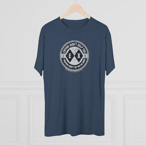 Men's Crying Won't Help Tri-Blend Crew Tee