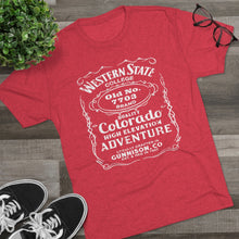Load image into Gallery viewer, Men's Western State College 7703 Tri-Blend T-Shirt