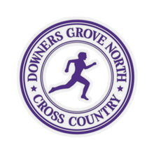 Load image into Gallery viewer, Downers Grove North Standard Kiss-Cut Stickers