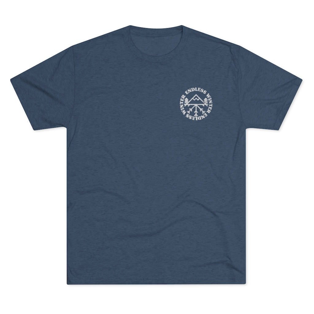 Men's East Wall Tri-Blend Crew Tee