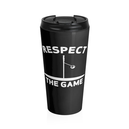 Respect the Game Stainless Steel Travel Mug