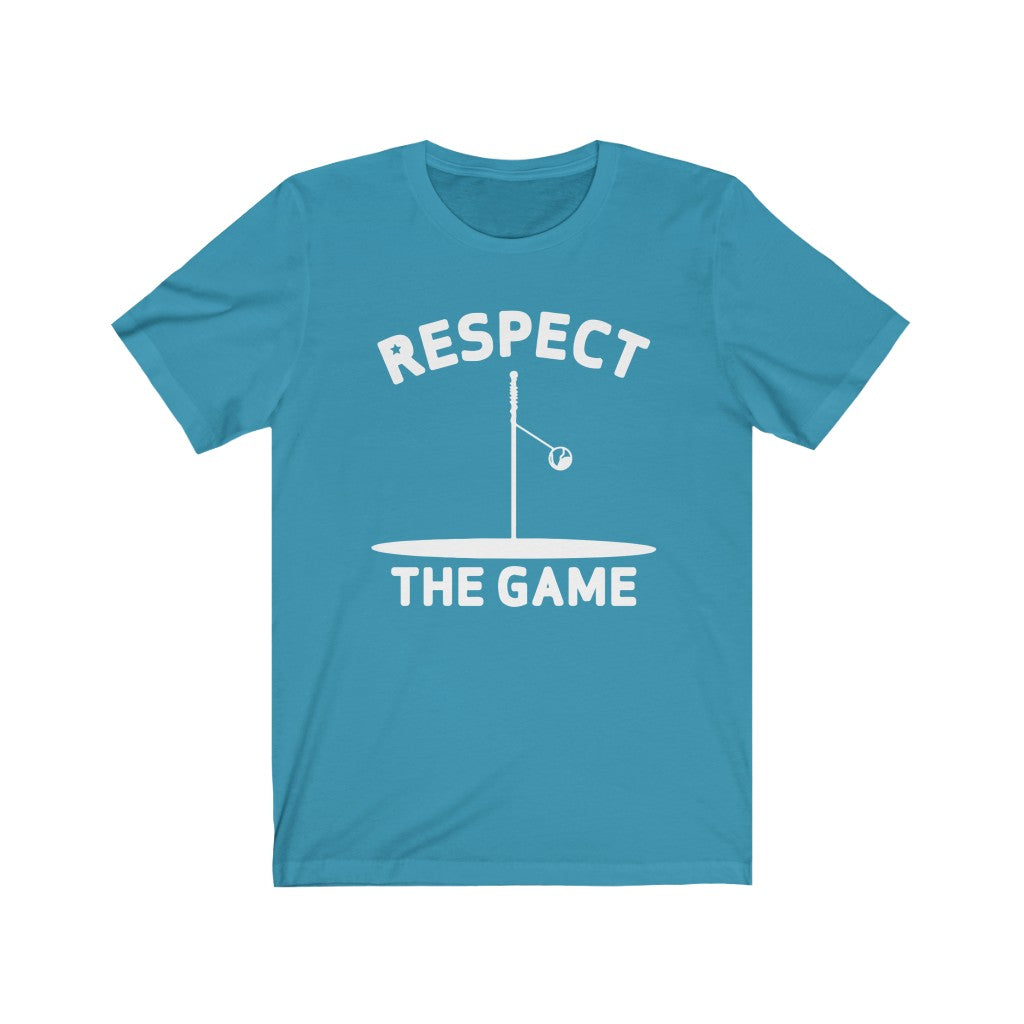 Respect the Game Tetherball Unisex Fitted Tee