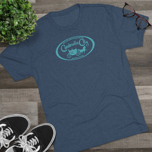 Men's Retro Cinderella City Tri-Blend Crew Tee