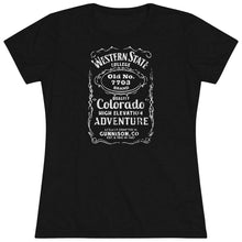 Load image into Gallery viewer, Women's Western State College 7703 Triblend Short Sleeve Tee