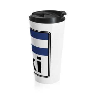 Ski Colorado Stainless Steel Travel Mug