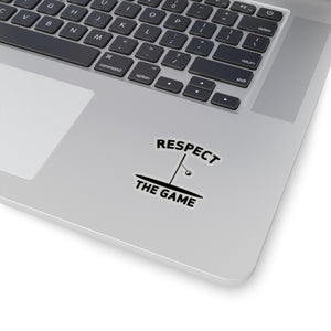 Respect the Game Kiss-Cut Stickers
