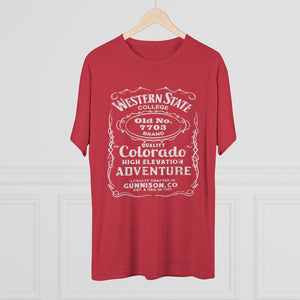 Men's Western State College 7703 Tri-Blend T-Shirt