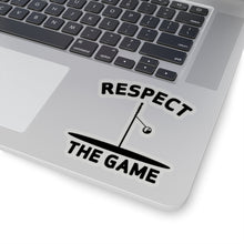 Load image into Gallery viewer, Respect the Game Kiss-Cut Stickers