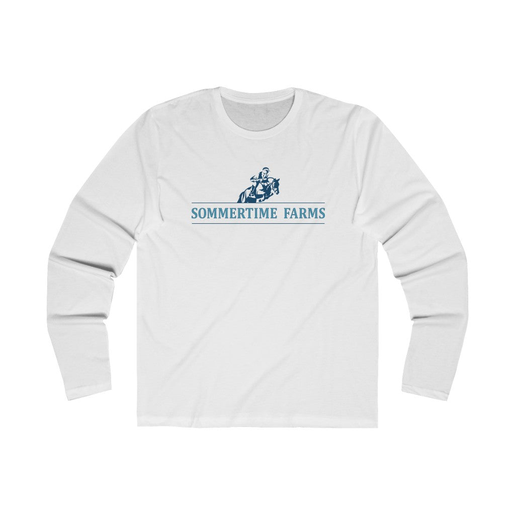 Men's Long Sleeve Sommertime Farms Crew Tee