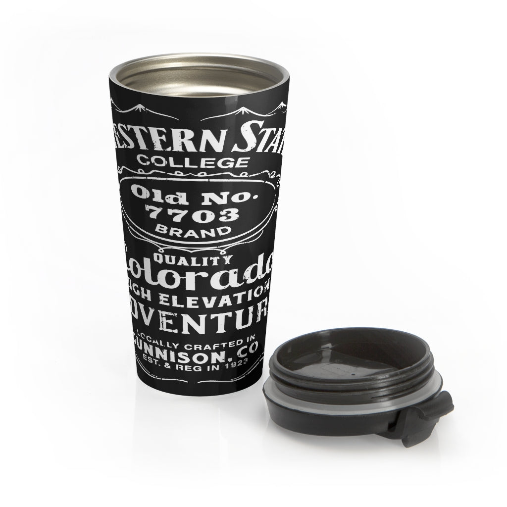 Western State College 7703Stainless Steel Travel Mug
