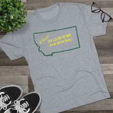 Load image into Gallery viewer, Men's Visit North Dakota! Tri-Blend Crew Tee
