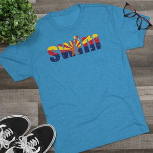 Men's Swim Arizona Tri-Blend Crew Tee