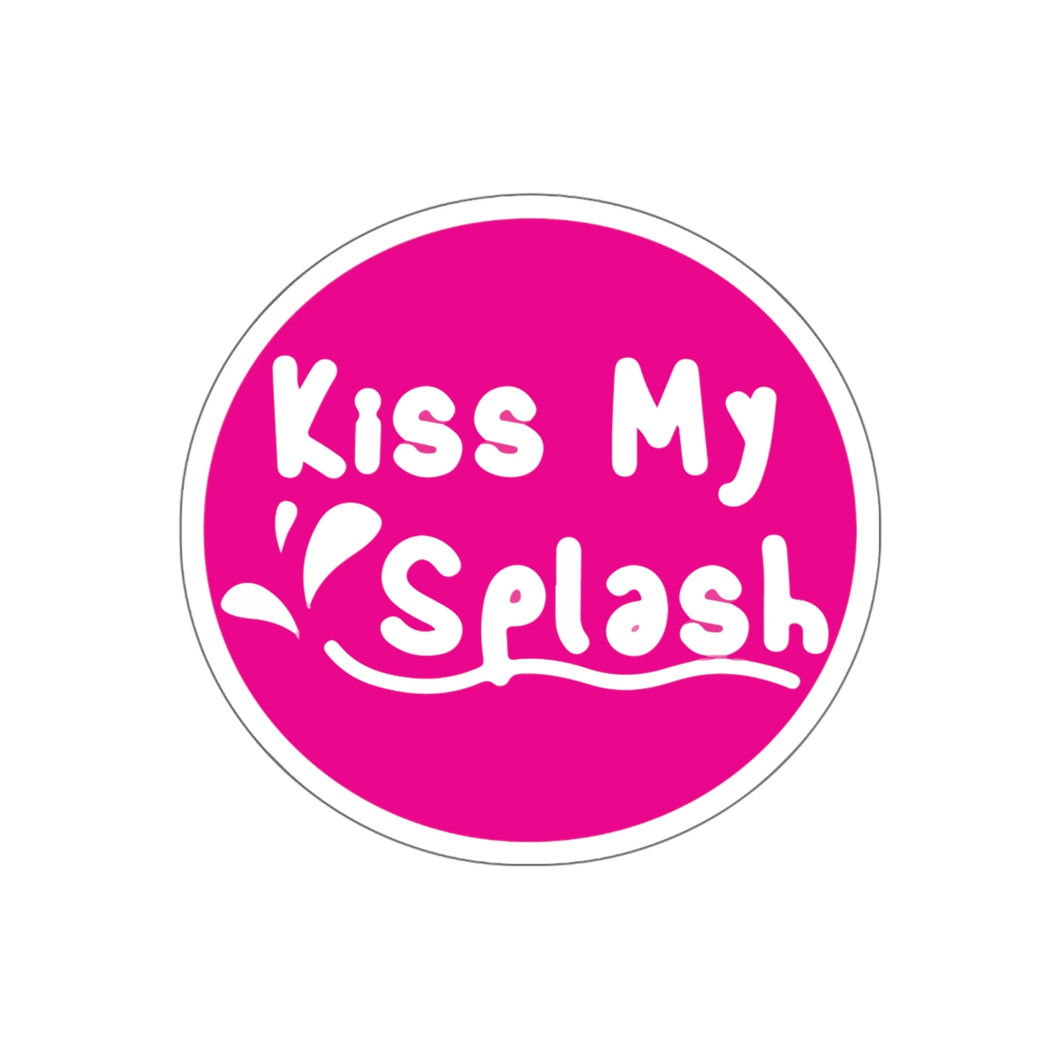 Kiss My Splash Kiss-Cut Stickers