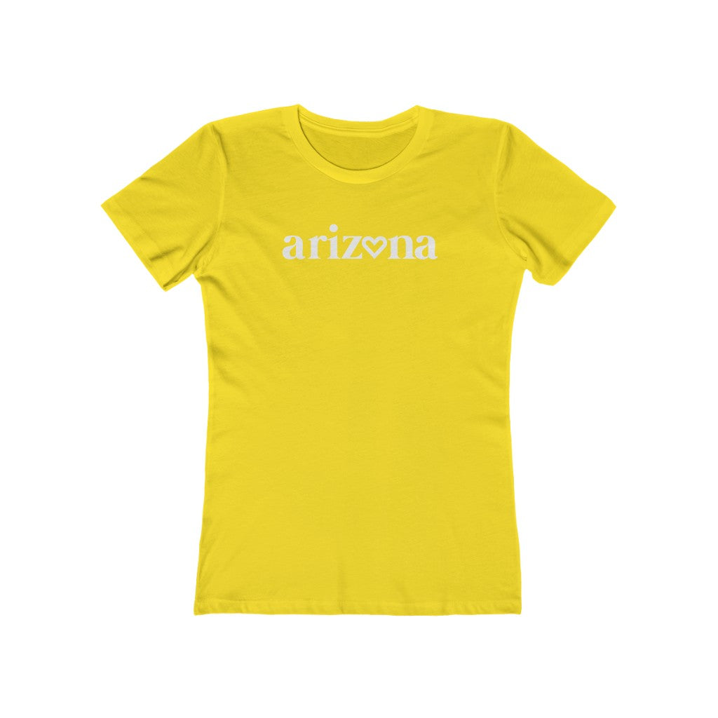 Women's Heart AZ Soft Cotton Tee