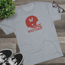 Load image into Gallery viewer, Men's WSC Football Tri-Blend Crew Tee