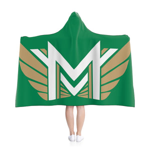 No words MVHS XC Hooded Blanket