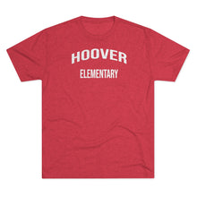 Load image into Gallery viewer, Men's Hoover Elementary Tri-Blend Crew Tee