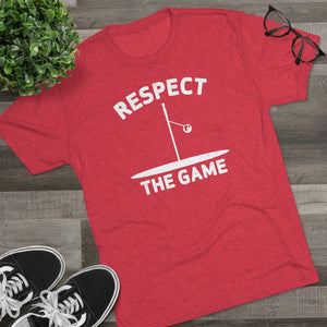 Men's Respect the Game Tri-Blend Crew Tee