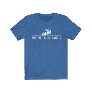 Unisex Sommertime Farms Jersey Short Sleeve Tee