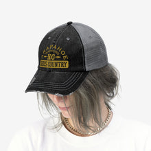 Load image into Gallery viewer, Unisex Gold Standard AHS XC Trucker Hat