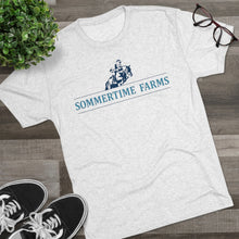 Load image into Gallery viewer, Men's Sommertime Farms Tri-Blend Crew Tee