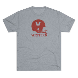 Men's WSC Football Tri-Blend Crew Tee