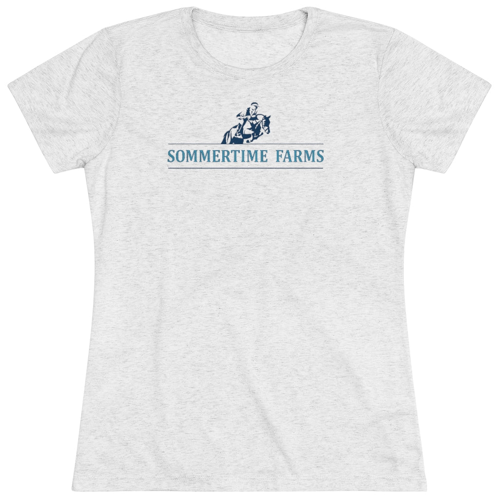 Women's Sommertime Farms Triblend Tee