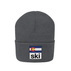 Ski Colorado Knit Beanie