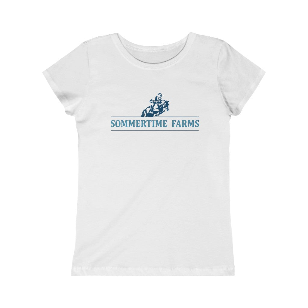 Sommertime Farms Girls Tee