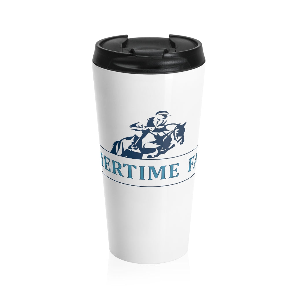 Stainless Steel Sommertime Farms Travel Mug