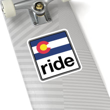 Load image into Gallery viewer, Ride Colorado Kiss-Cut Stickers