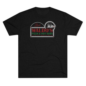Men's Waldo's Pizza Tri-Blend Crew Tee