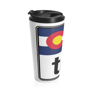 Tri Colorado Stainless Steel Travel Mug