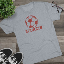 Load image into Gallery viewer, Men's Retro Rockets Soccer Tri-Blend Crew Tee