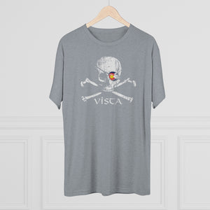 Men's Vista Pirate Tri-Blend Crew Tee