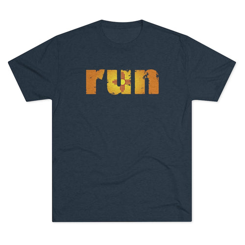Men's Run New Mexico Tri-Blend Crew Tee