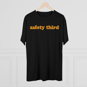 Men's Safety Third Tri-Blend T-Shirt