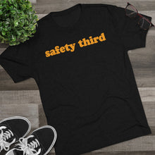 Load image into Gallery viewer, Men's Safety Third Tri-Blend T-Shirt
