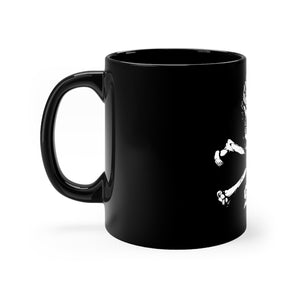 Colorado Ski Pirate Black mug 11oz
