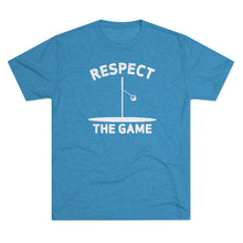 Load image into Gallery viewer, Men's Respect the Game Tri-Blend Crew Tee