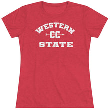 Load image into Gallery viewer, Women's Western State College CC Triblend Short Sleeve Tee