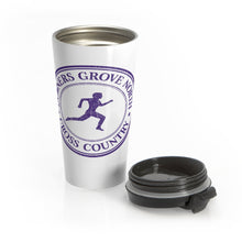 Load image into Gallery viewer, Stainless Downers Grove North Standard  Steel Travel Mug