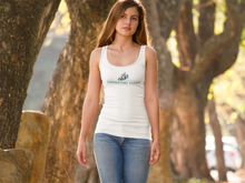 Load image into Gallery viewer, Women's Sommertime Farms Ideal Racerback Tank