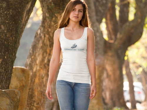 Women's Sommertime Farms Ideal Racerback Tank