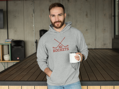 Champion Retro Rockets Hockey Hoodie